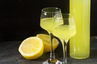 Limoncello a traditional Italian liqueur