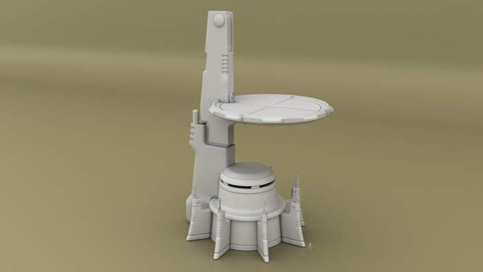 10mm Wargaming: Project Update #6: 3D Printable Alien Tau