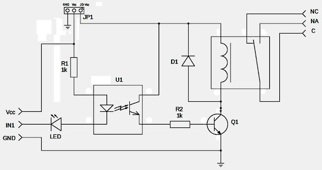 Practecno Conexionado De Un Módulo De 8 Relés A Arduino
