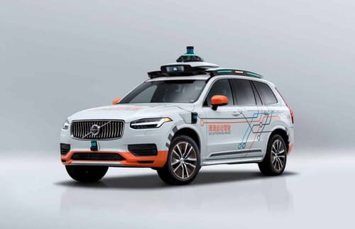 Volvo supplies cars to the autonomous vehicle division in Didi