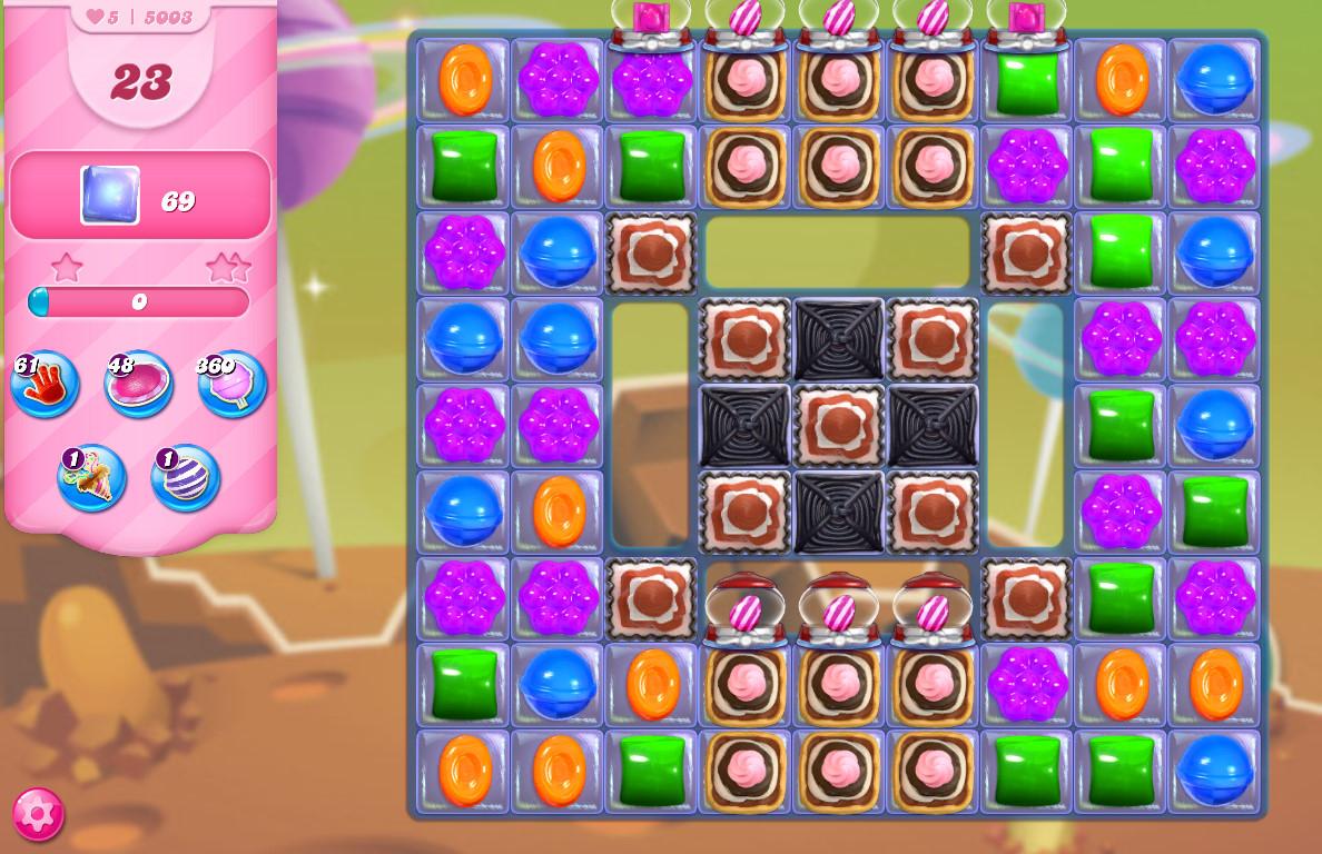 Candy Crush Saga level 5003