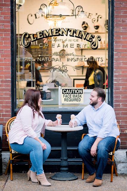 Lafayette Square Engagement Photographer St. Louis Wedding Photographer