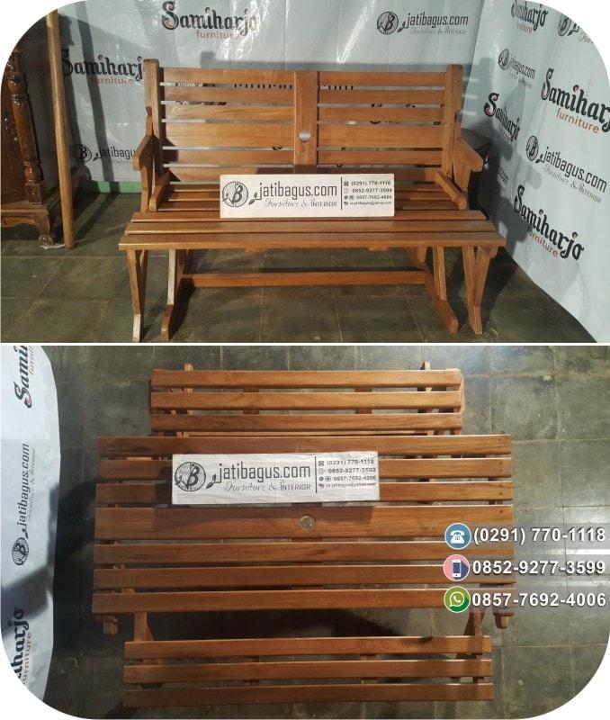 Kursi Lipat Bangku Taman Kayu Minimalis Pengiriman Custom Yogyakarta