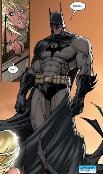 Batman dibujado por Michael Turner en Superman/Batman #8