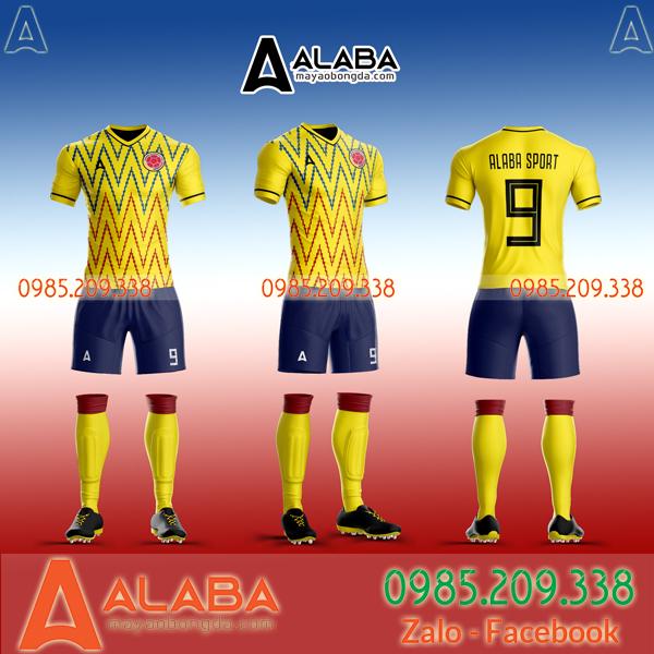 Áo đấu Colombia đẹp