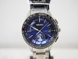 セイコーブライツの電波ソーラー腕時計 SAGA231 定価110,000(税込み)中古品をお買い取り致しました