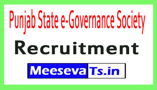 Punjab State e-Governance Society PSEGS Recruitment