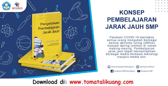 Download Pedoman Pengelolaan Pembelajaran Jarak Jauh SMP 2021 pada Masa Pandemi Covid-19 PDF