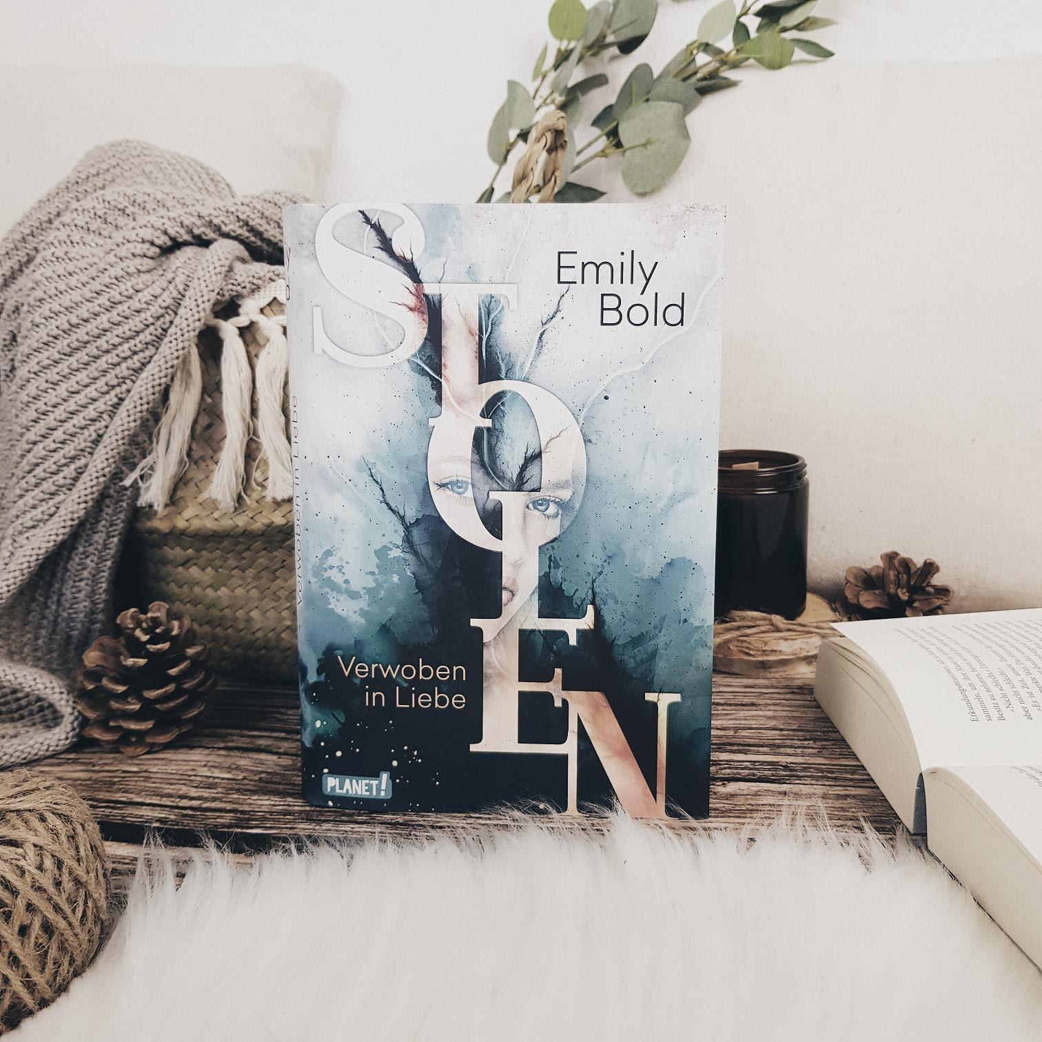Bücherblog. Rezension. Buchcover. Stolen - Verwoben in Liebe (Band 1) von Emily Bold. Jugendbuch. Fantasy. Planet!.