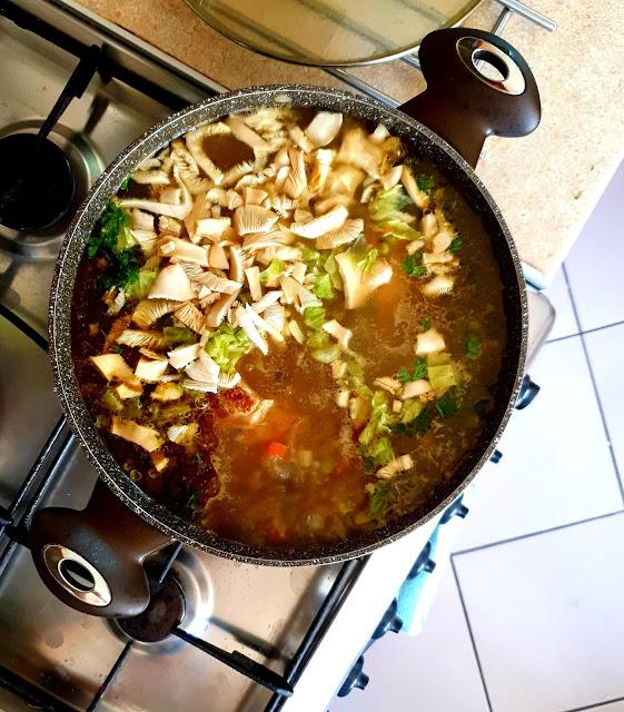 zupa jarzynowa,szybka zupa,zupa grzybowa,z kuchni do kuchni, top blog kulinarny,rosół,