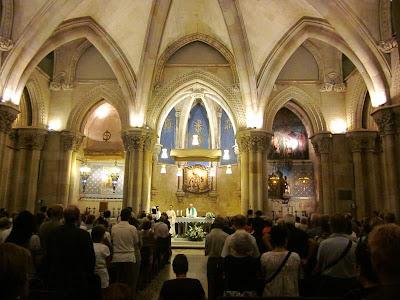 Crypy of Sagrada Familia Basilica