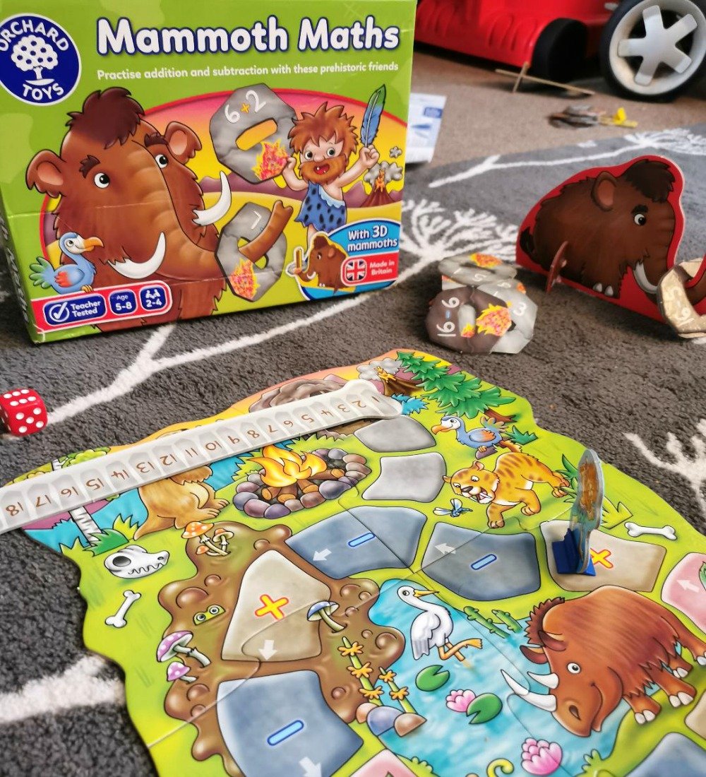 Back To School With Orchard Toys - Mammoth Maths Educational Games Review