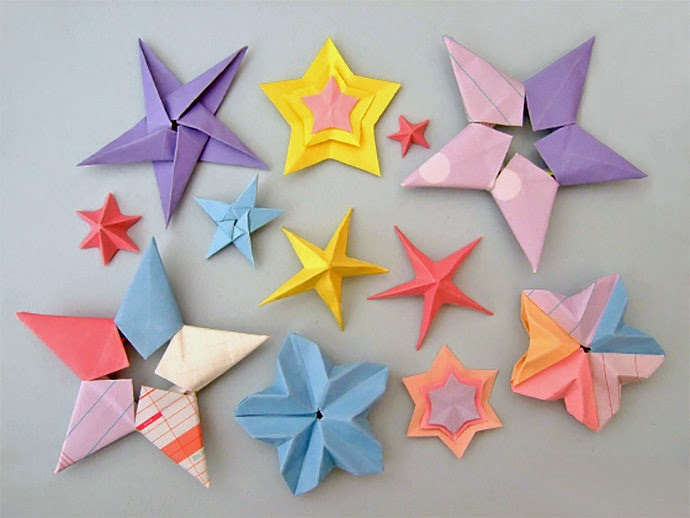 how to make origami crafts