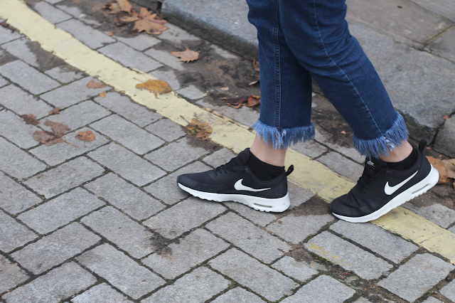 how to wear trainers fashion blog