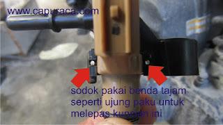 membersihkan Injektor Motor