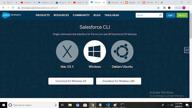 Salesforce CLI