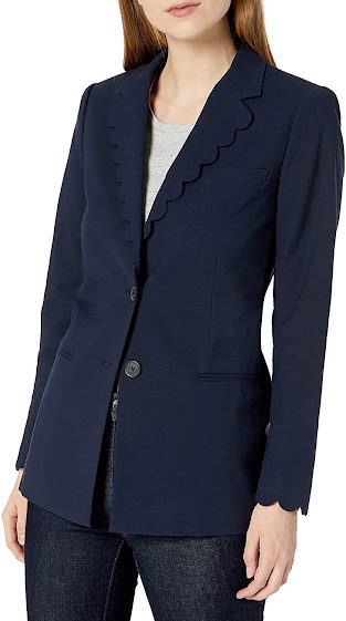 Best Unique Navy Blue Blazers For Women