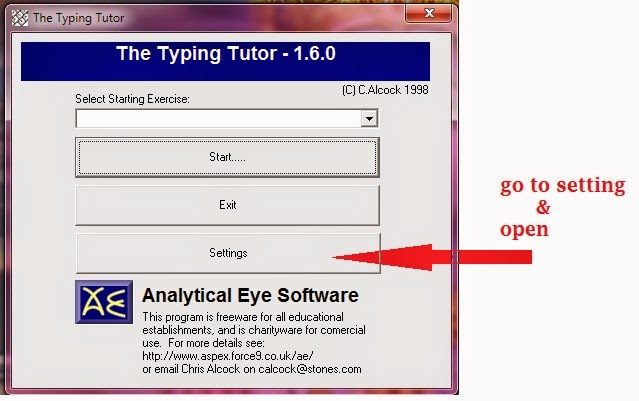 Typing test software for crpf & cisf exam (without backspace