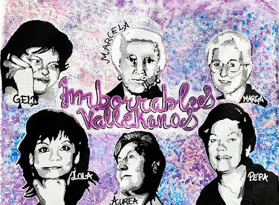 "Mural titulado ""Imborrables Vallekanas"""
