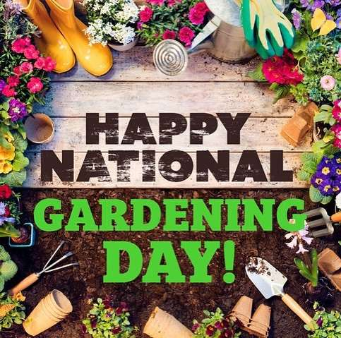 National Gardening Day Wishes Sweet Images