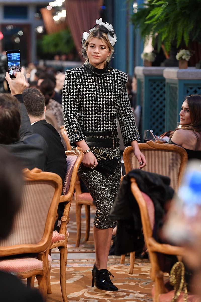 Sofia Richie au Défilé Chanel Métiers d'Art 2016-2017 - Cosmopolite