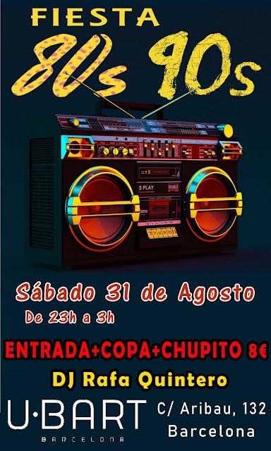 Flyer Fiesta 80s 90s