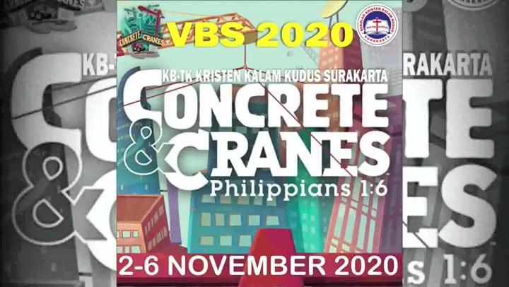 VBS KB-TK 2020: Concrete & Cranes