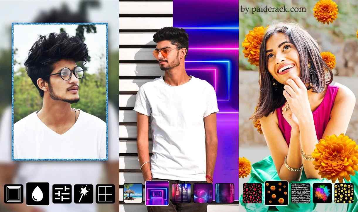 Instasquare Photo Editor: Drip Art, Neon Line Art Pro Mod Apk 2.5.0.7