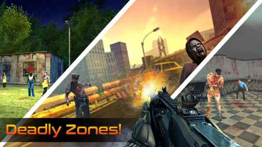 Game Tembak Zombie Android Offline Dead Zombies MOD APK
