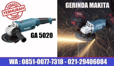 harga gerinda makita type GA5020, makita GA5020 harga, mesin gerinda makita grinder GA5020    , makita mesin gerinda tangan GA5020, makita GA5020 spec, makita grinder GA5020 price, perkakas murah jakarta