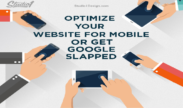 Optimize Your Website for Mobile or Get Google Slapped #infographic