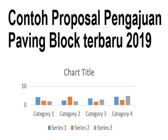 contoh proposal pengajuan paving block