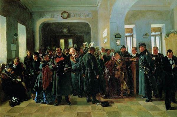 Маковский Владимир Егорович - Крах банка. 1881