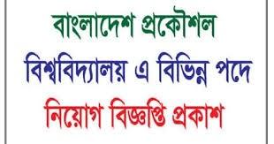 বাংলাদেশ প্রকৌশল বিশ্ববিদ্যালয় বুয়েট নিয়োগ বিজ্ঞপ্তি ২০২১ - Bangladesh University Engineering of and Technology BUET Job Circular 2021