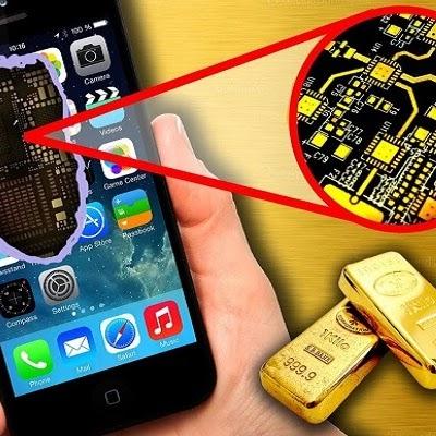 هل تعلم أن بعض مكونات هاتفك من الذهب ؟ وكم يمكنك استخراج منه ؟ ولماذا يستخدمونه في هاتفك ؟