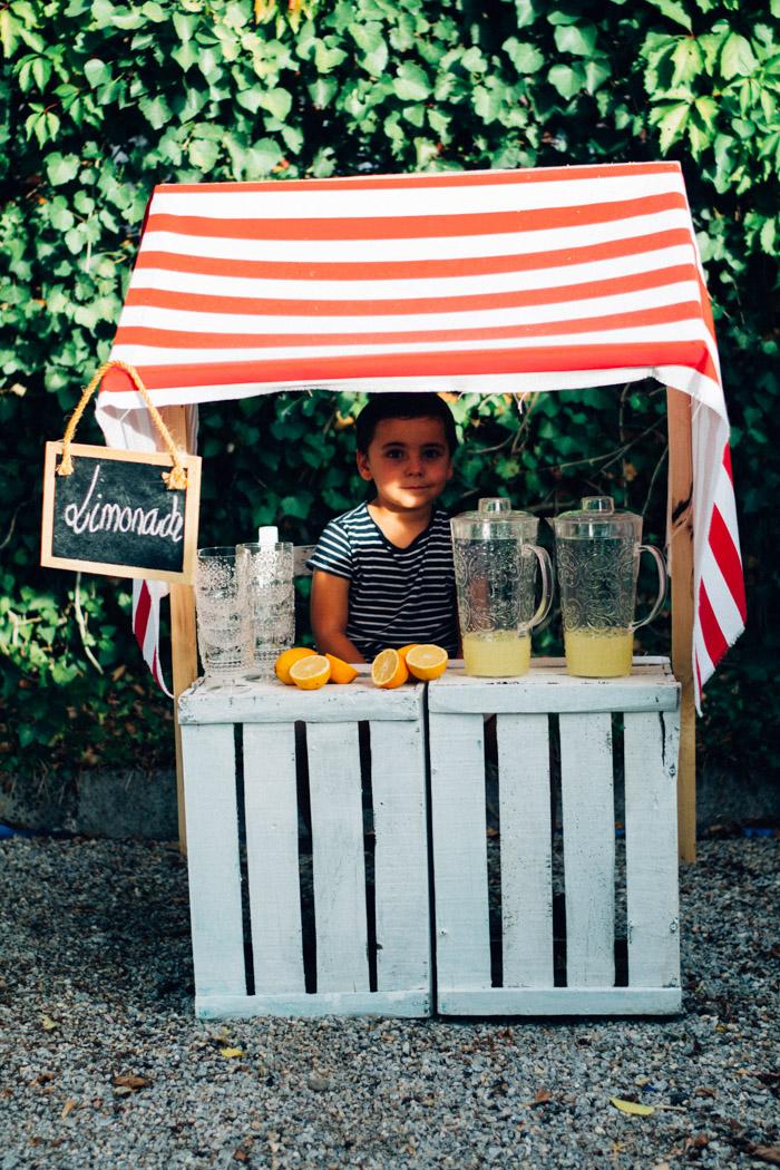 Puesto de Limonada DIY
