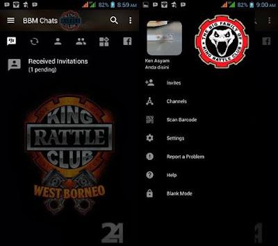 BBM MOD King Rattle Club v3.2.0.6 APK (BBM Club King)