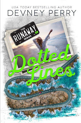 Dotted Lines (Runaway Road #5) by Devney Perry - Alternate Cover