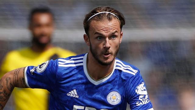 Leicester midfielder James Maddison