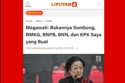 Megawati Ngaku Yang Membuat KPK, Tere Liye Pedes Sekali Membalasnya