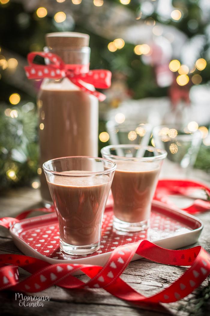 Licor de Nutella. Receta perfecta para Navidad.