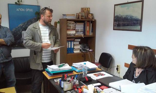 Σύλλογος Εργαζομένων ΟΤΑ Ν Θεσπρωτίας: Παράσταση διαμαρτυρίας στην Αποκεντρωμένη Διοίκηση Ηπείρου στην Ηγουμενίτσα