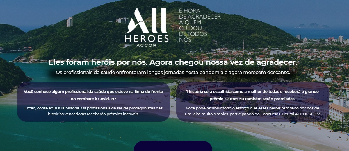 Participar Concurso AllHeroes Accor 2021