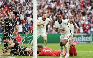 Piala Eropa 2020, Sterling, Kane antar Inggris Lewati Jerman di Babak 16 Besar