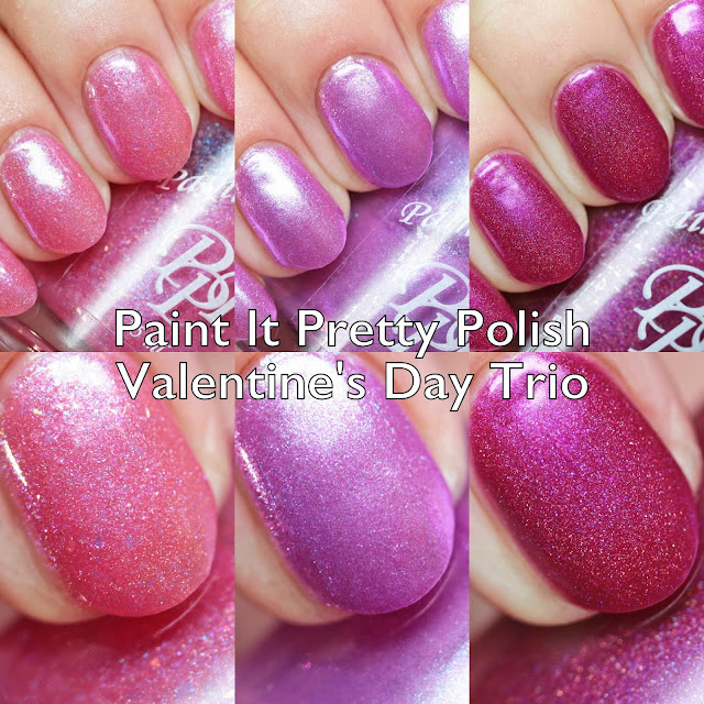 Paint It Pretty Polish Valentine's Day Trio