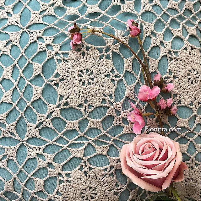 Motivo Clara a Crochet Patrón + Tutorial