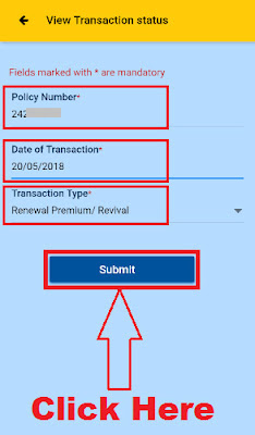 how to download online lic premium receipt