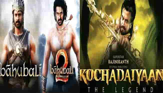 The most expensive 6 South Indian films