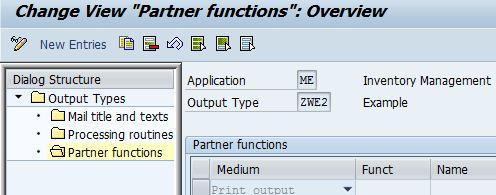 SAP Sample Programs: NACE Config