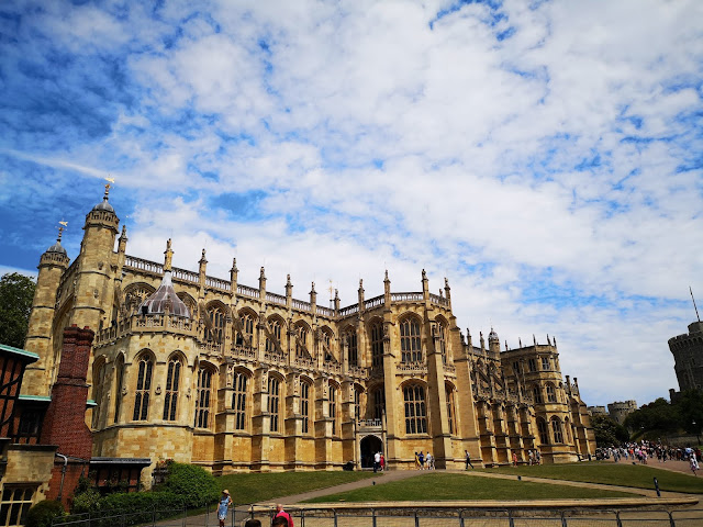 St Georges Chapel at Windsor Castle